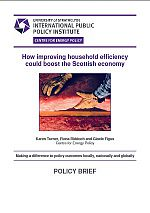 Cover of Karen Turner et al. policy brief